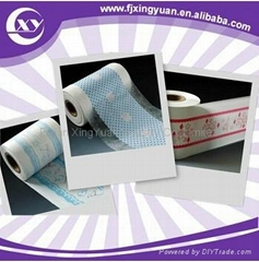 Diaper polyethylene backsheet film