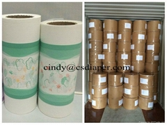 Raw materials for baby diapers PE film