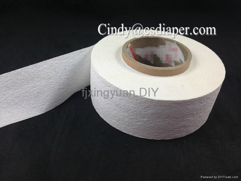 Airlaid paper with sap or without sap for sanitary napkins 4
