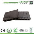 Popular cheaper hollow wpc decking with