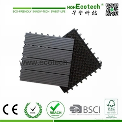 Hot sale interlocking wpc DIY tiles with