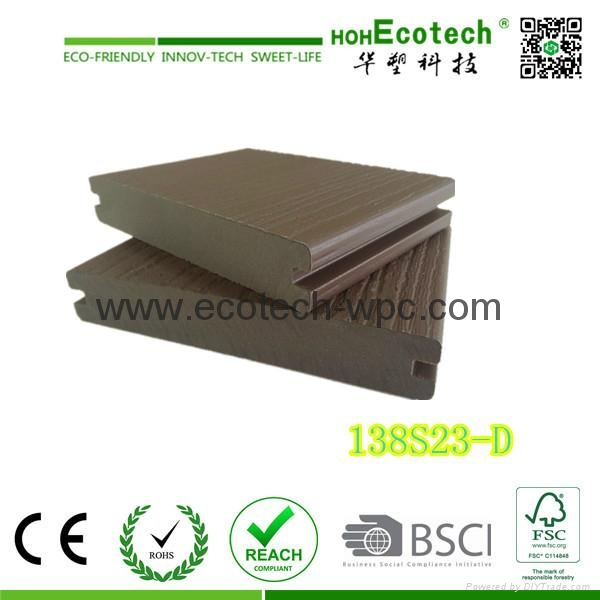 More Benefit Outdoor Widly Used Capped Wpc Decking  1
