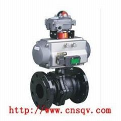 气动碳钢球阀系列