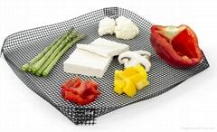 ptfe coated fiberglass mesh basket