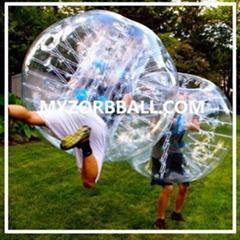 Transparent Zorb Ball Zorbing