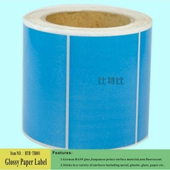 Color Glossy Paper Rolls