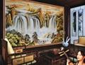艺术玻璃背景墙 5