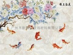 艺术陶瓷背景墙