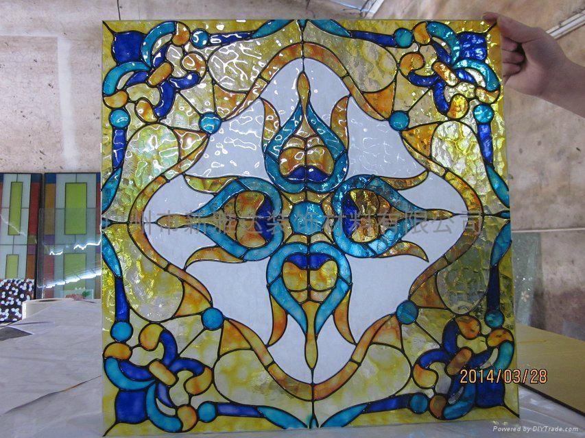 立线彩彩绘玻璃 2