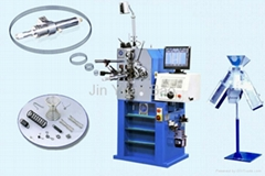 CNC compression spring making machine