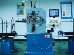 Full function spring coiling machine