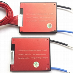 10s 36v 16a 25a 35a 45a 60a LITHIUM BMS PCM PCB