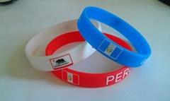 Hot sale customized promotion silicone wristband