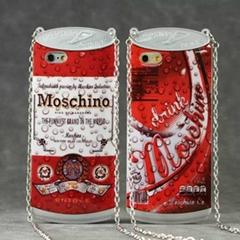 iphone 6 6plus Moschino fashion soda water cute handbags case