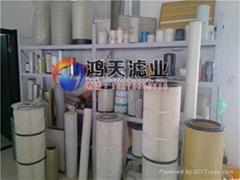 PTFE覆膜聚酯纖維濾筒K3566