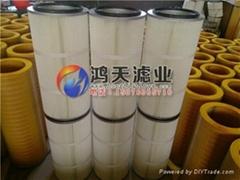 船厂用聚酯纤维除尘滤筒DH3566
