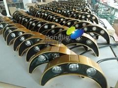 金色3w led瓦楞燈