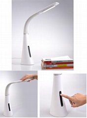 LED Flexible Clip On Desk Table Lamp Reading Light Eye
