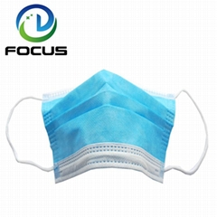 Wholesale 3 Ply Earloop Disposable Face Mask