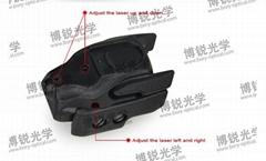 Sparker Pistol Mini Red Laser Scope Sight