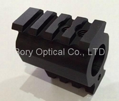 0.75'' 750 Low Profile Gas Block Quad Rail Mount for Laser Sight and Flashlight