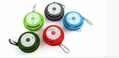 Portable Bluetooth TF card Support Mini Speaker with Clip for Climbing Biking