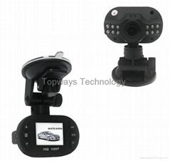 Full HD 1920*1080P 12 IR LED Vehicle Video Camera C600 Car Recorder Dvr