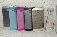 New Motomo Metal Brushed Ultra thin Aluminum Polka Dot Case For Iphone 5 5S
