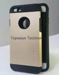 Premium Spigen sgp Tough Armor Case Defender Case for Apple IPhone 6G (Hot Product - 1*)