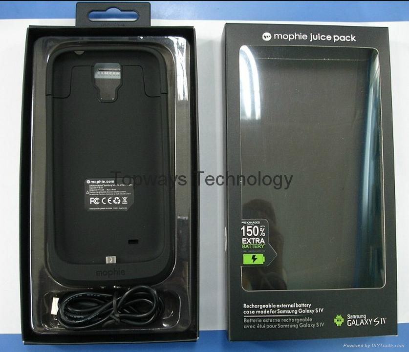 check out f3f4e 86424 For Samsung Galaxy S4 Mophie Juice Pack 150% Rechargeable External