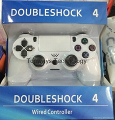 Wired Controller for Playstation PS4 Gaming Set White/Black