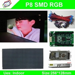 p8 p7.62 p6 smd led display indoor/ p4 p5 p6 led display modules/ video outdoor