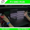 High-Definition P3 SMD indoor full color led display module / P3 RGB led panel / 3