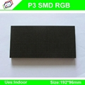 High-Definition P3 SMD indoor full color led display module / P3 RGB led panel / 4