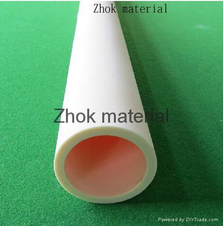 99%-99.5% big size alumina tube 1