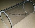 high purity clear quartz tube
