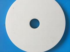 Alumina disk with hole
