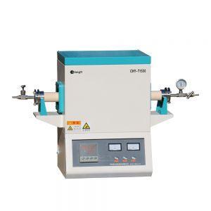 1400C Alumina tube furnace with sealing flanges 2