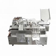 Ampoules filling and sealing machine