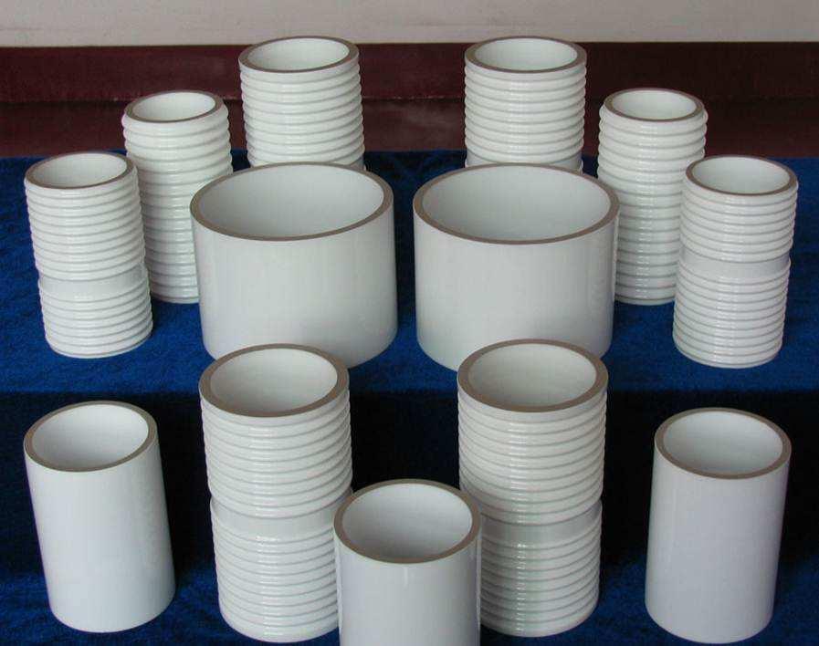 metalized ceramic tube