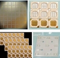 Ceramic substrate with Mo-Mn metallization