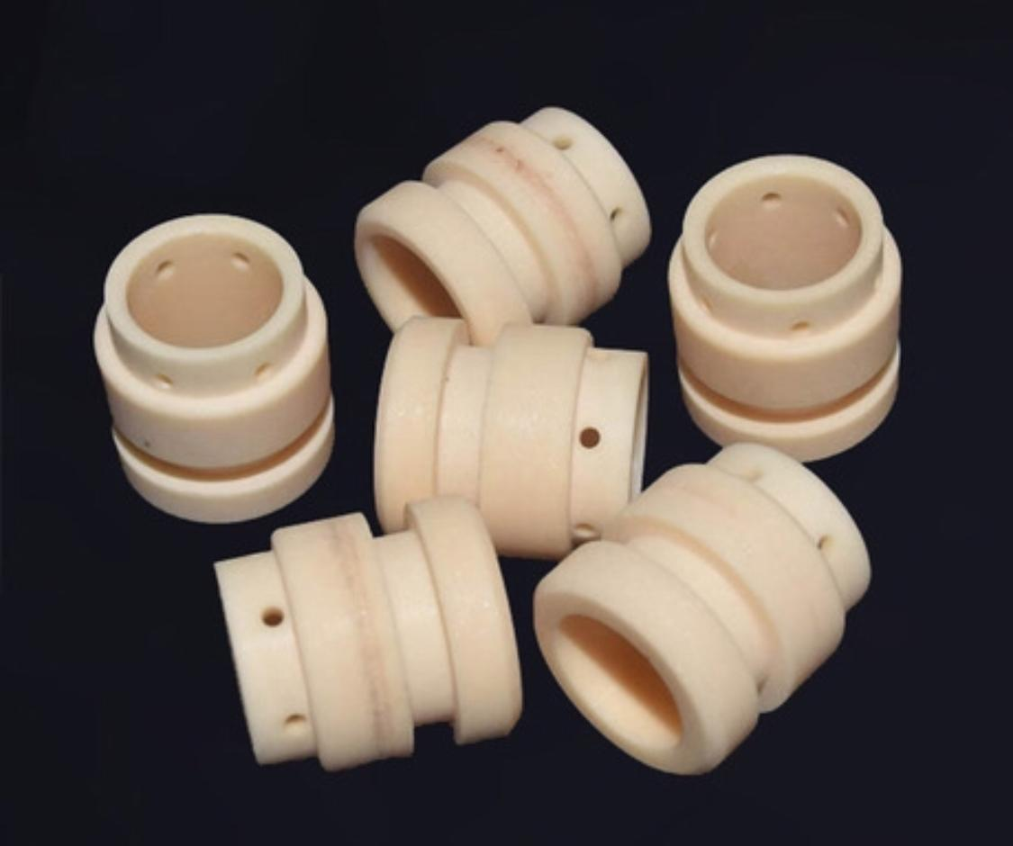 92% 99% Thin Wall Alumina Ceramic Tube/Sleeve for Wear Protection