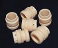 92% 99% Thin Wall Alumina Ceramic Tube/Sleeve for Wear Protection 1