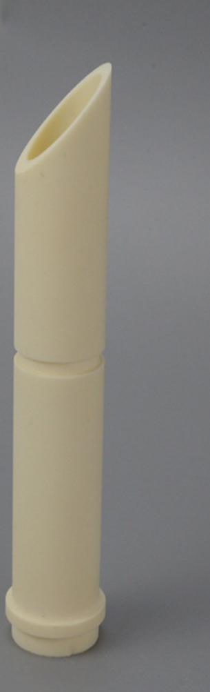 92% 99% Thin Wall Alumina Ceramic Tube/Sleeve for Wear Protection 5