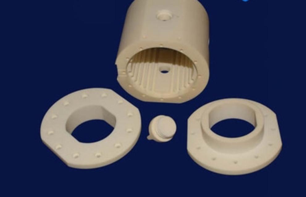 92% 99% Thin Wall Alumina Ceramic Tube/Sleeve for Wear Protection 6