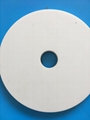insulated heat conductive spent alumina ceramic bush disk flange plate supplier
