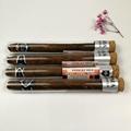 Borosilicate cigar glass tube with cork