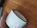 metalized ceramic tube with glazed
