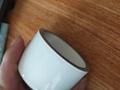 metalized ceramic tube with glazed