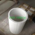 Big size alumina cylinder crucible for melting steel